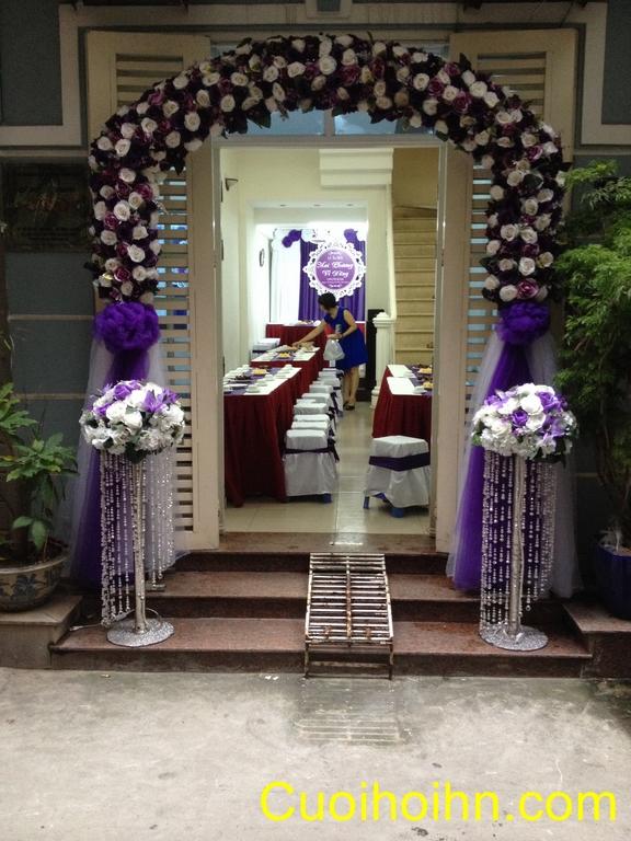 cong hoa gia dam cuoi, cổng hoa giả đám cưới, cong hoa lua, cổng hoa lụa, thuê cổng hoa, thuê cổng hoa