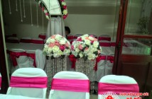 cột hoa lụa đám cưới, cot hoa lua dam cuoi, tru hoa lua, trụ hoa lụa, cột hoa lụa, cot hoa lua